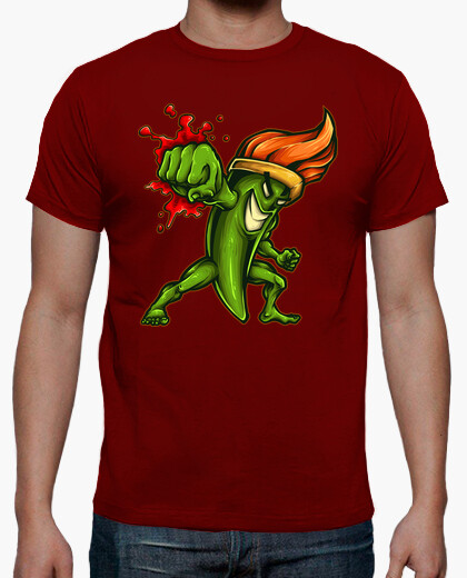 Camiseta Brush Fighter