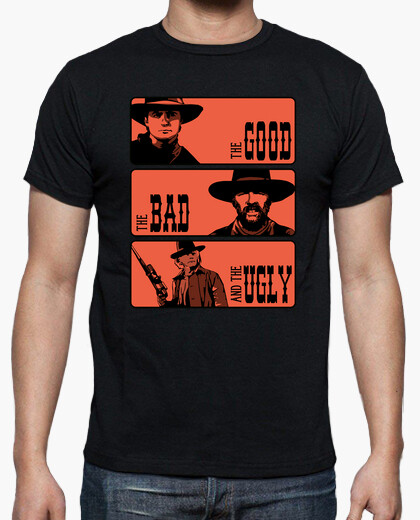 Camiseta BTTF: The good, the bad and the ugly
