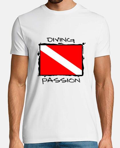 Camiseta buceo Diving Passion