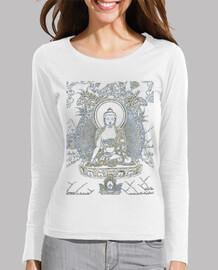 Camiseta Buda manga larga