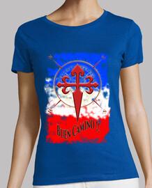 Camiseta Buen Camino de Santiago Francia