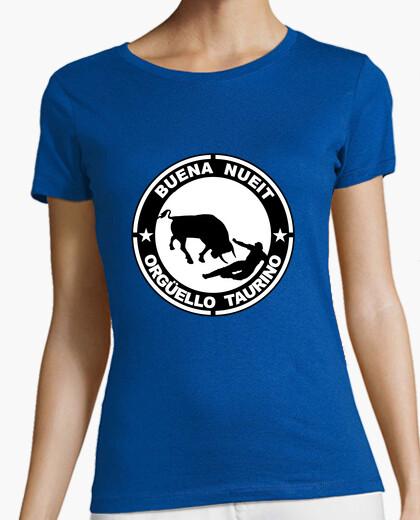 Camiseta buena nueit orgüello taurino