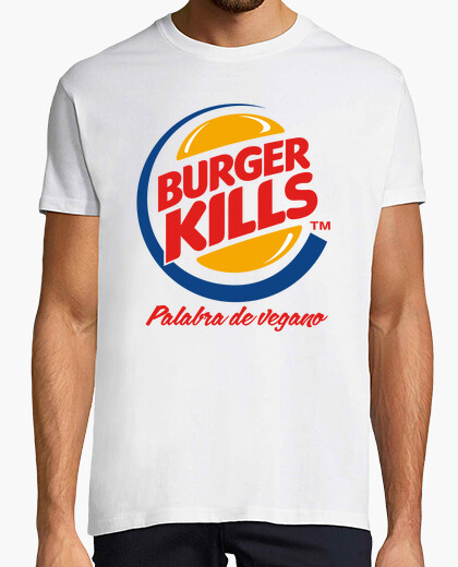 Camiseta Burger Kills