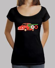 Camiseta CA chica fiat 500