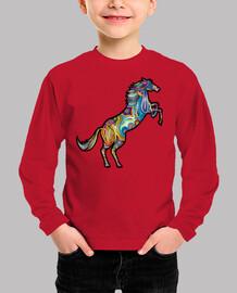 Camiseta Caballo color M/L
