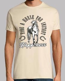 Camiseta Caballo Herraduras Horses