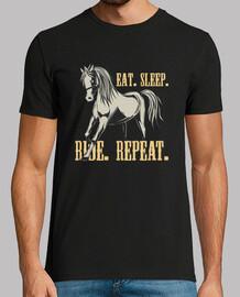 Camiseta Caballo Horses Retro Estilo