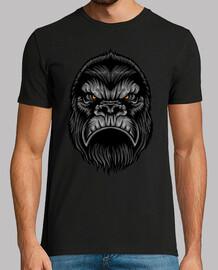 Camiseta Cabeza de Gorila Animal Salvaje Selva Safari Animales