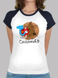 Camiseta Cacamut Femenina Old School