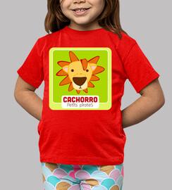 Camiseta Cachorro | Roja