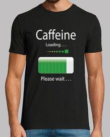 Camiseta Café Cafeina Humor Loading