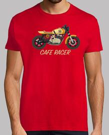 Camiseta Cafe racer amarilla