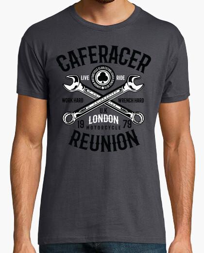 Camiseta Cafe Racer Moto Custom