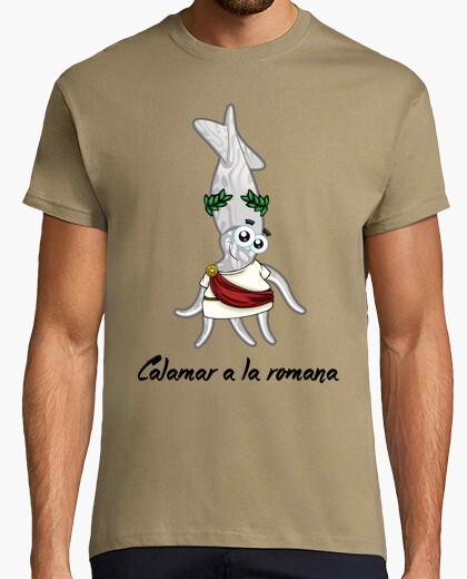 Camiseta Calamar a la romana