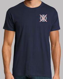 Camiseta Calamar Cruz Rosa Hombre