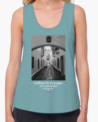 Camiseta Callejón de Crocquer. San Fernando. Cádiz