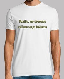 Camiseta Cállese viejo lesbiano