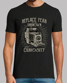 Camiseta Cámara Fotográfica Antigua
