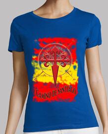 Camiseta Camino de Santiago Bandera de