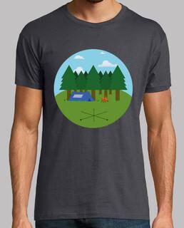 Camiseta Campamento