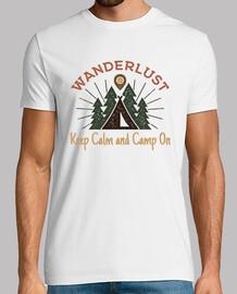 Camiseta Campamento Retro Vintage