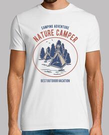 Camiseta Camping Naturaleza Campamento