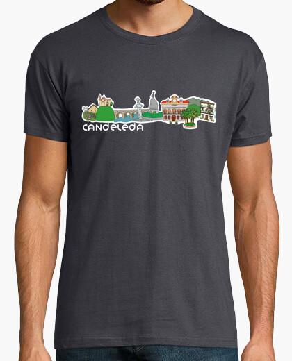 Camiseta Candeleda_letras blancas_contorneado