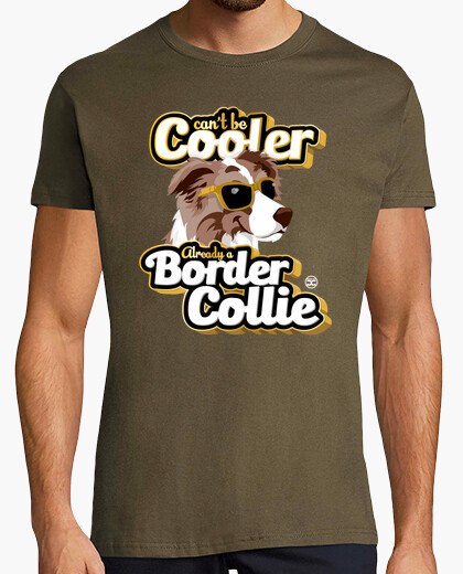 Camiseta Can't Be Cooler - BC Brown Merle