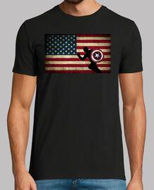 Camiseta Capi bandera americana.