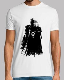Camiseta Capitán Harlock Blanca
