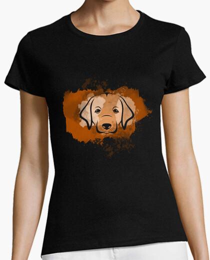 Camiseta Cara cachorro labrador