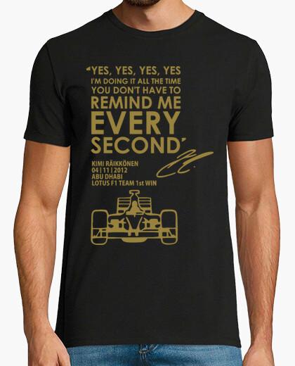 Camiseta Carreras Formula 1