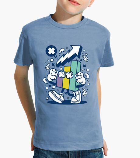 Ropa infantil Camiseta Cartoon Escolar Gráfico Divertido