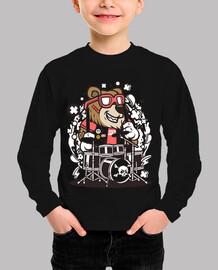 Camiseta Cartoon Juvenil Divertido Bear