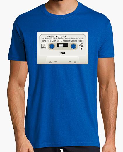 Camiseta Cassette Radio Futura