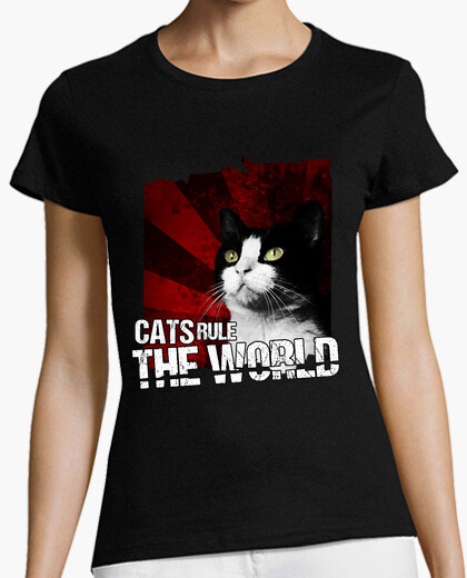 Camiseta Cats Rule The World