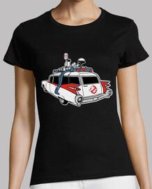 Camiseta Cazafantasmas Coche para mujer