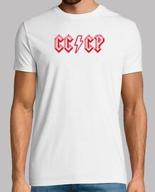 Camiseta CCCP ACDC Rojo