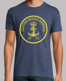 Camiseta Centro Buceo Armada mod.2