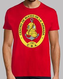 Camiseta Centro Buceo Armada mod.3-3