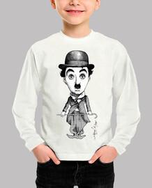 Camiseta Charles Chaplin para pequeños