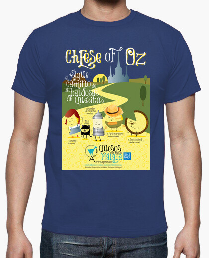 Camiseta Cheese of Oz