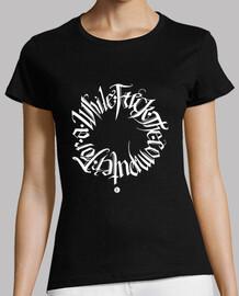 Camiseta chica - Fuck the computer
