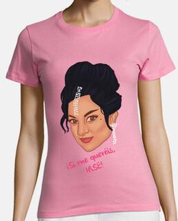 Camiseta Chica - Lola Flores - Si me quereis irse