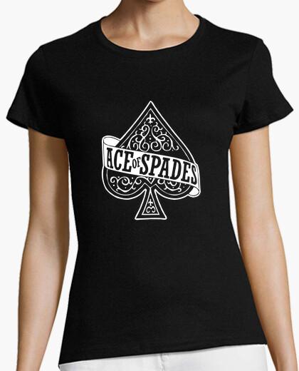 Camiseta chica Ace of spades