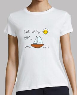 Camiseta chica Barco