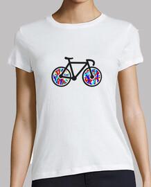 Camiseta chica Bicicleta