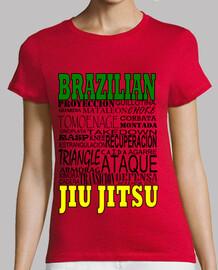 Camiseta Chica BJJ