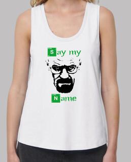 Camiseta Chica Breaking Bad Heisenberg