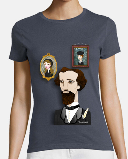 Camiseta chica Charles Dickens
